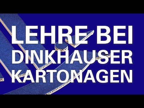 Lehre bei Dinkhauser Kartonagen – Lehre mit Zukunft.