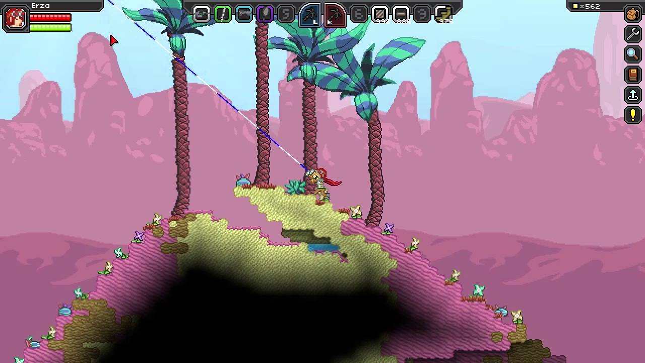 terraria how to make a grappling hook
