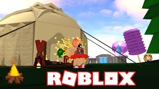 ROBLOX GONE CAMPING À ROYALE HIGH! CAMPGROUND HIKING ADVENTURE WITH TOASTED MARSHMALLOWS!