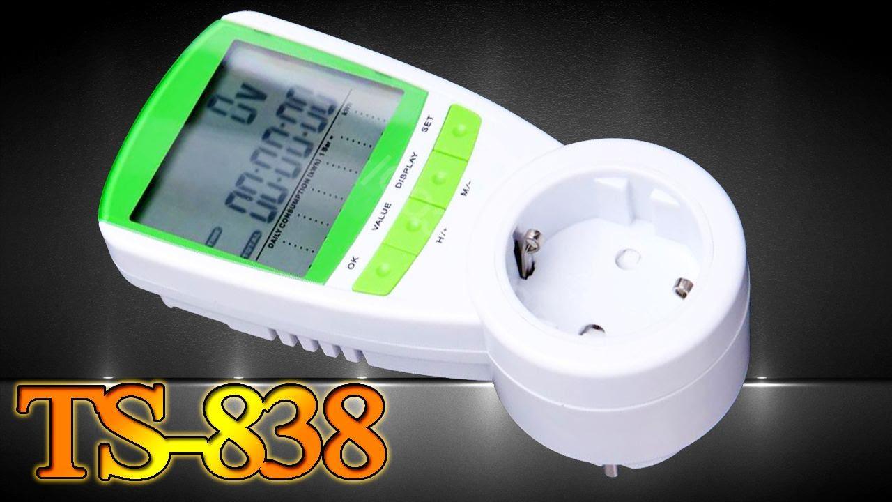 TS-838: бытовой ваттметр, измеритель мощности, счётчик электроэнергии или расходомер. Aliexpress