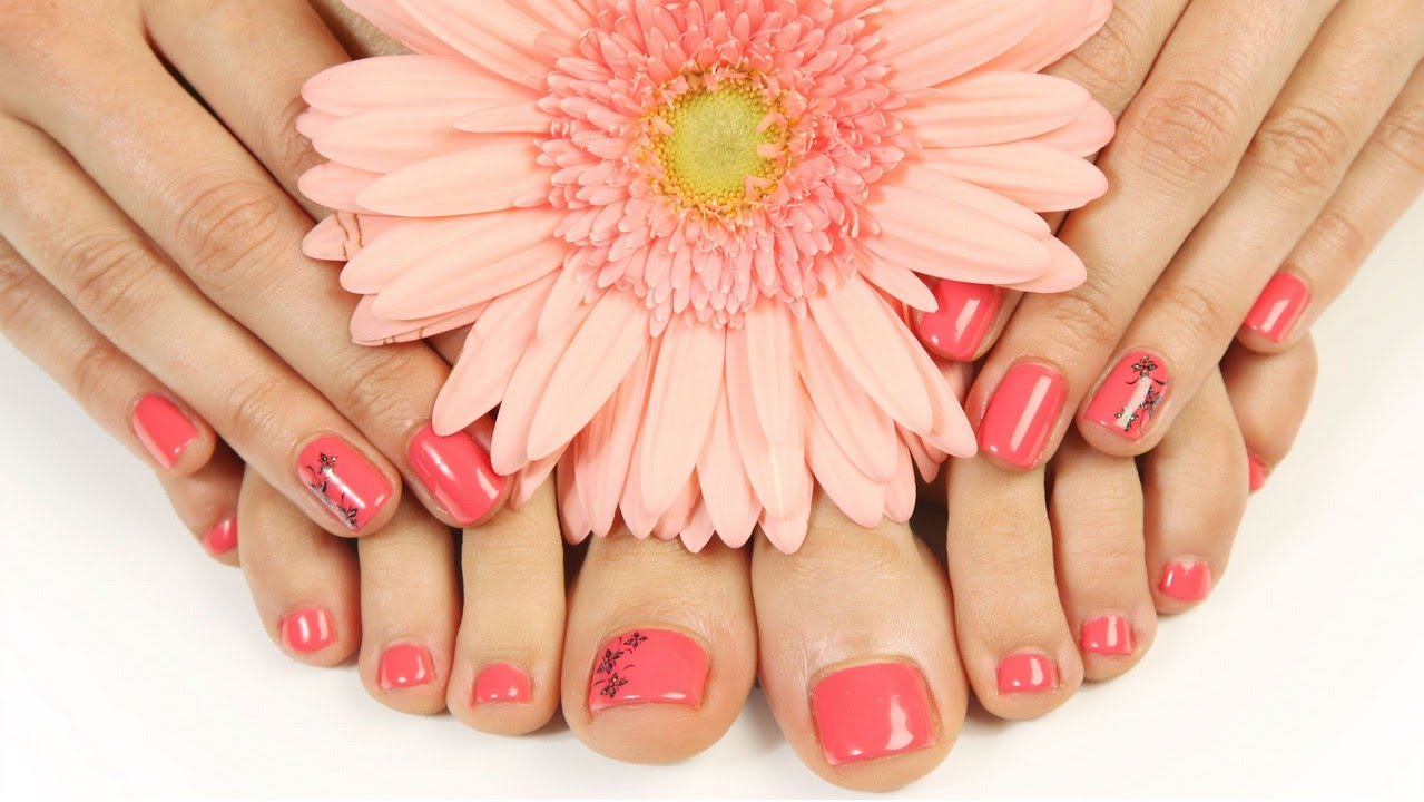 gel french manicure