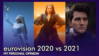 Eurovision Battle - 2020 vs 2021 🇳🇱