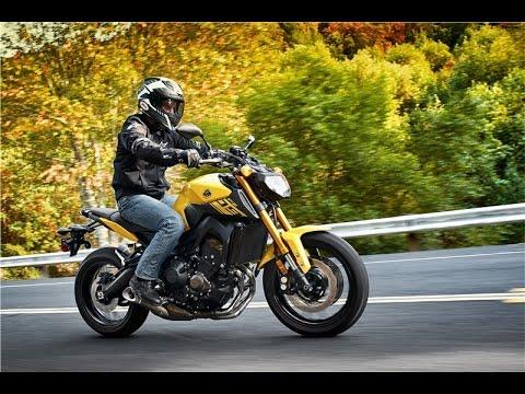 Yamaha Fz09 top speed test in first gear