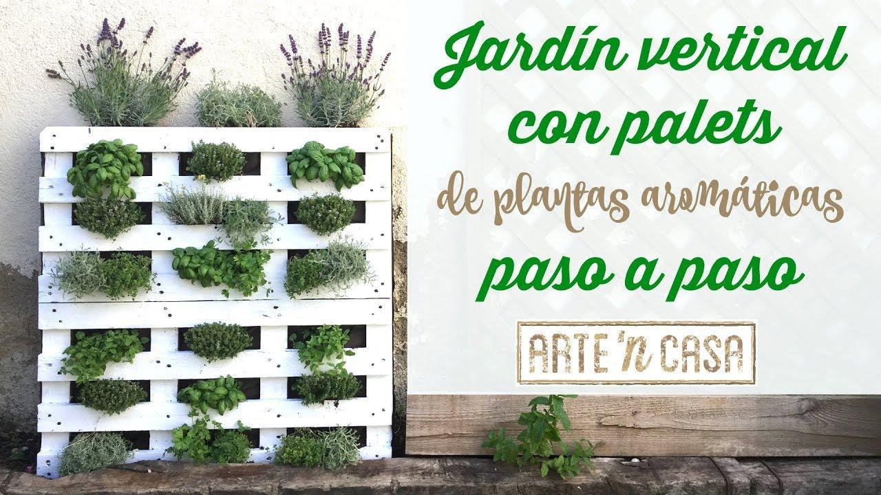 jardin vertical casero como hacer un jard n paso a siembra en casa Jardín vertical con palets