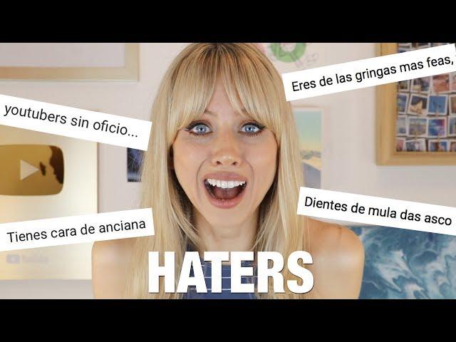 Comentarios HATERS en YouTube | Superholly