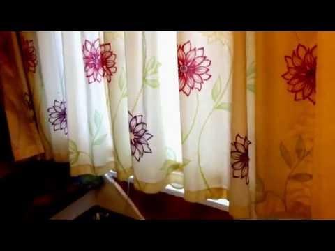 Gardinen Aufhangen Vorhange Installieren Gardine An