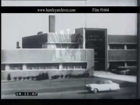 Boston and other U.S. cities, 1950's.  Archive film 91664