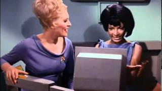Nichelle Nichols, Majel Barrett & Grace Lee Whitney 1 - You can get it if You really want