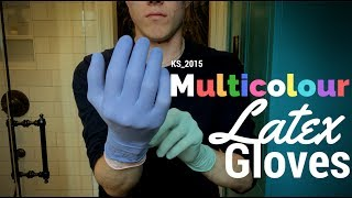 Multicolor Latex Gloves