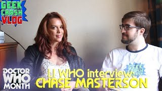 Chase Masterson Talks Doctor Who, Big Finish, and Inspector Spacetime at LI WHO - Geek Crash Course