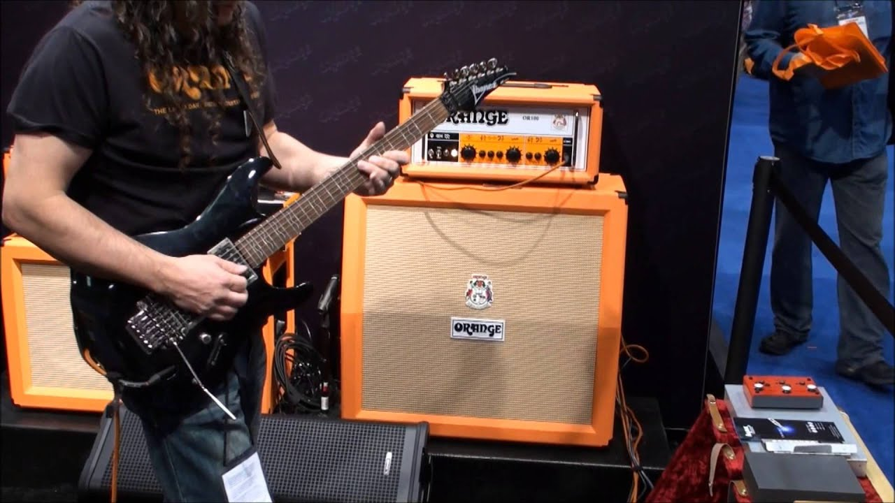 orange or100 tube guitar amp head orange or100 youtube. Black Bedroom Furniture Sets. Home Design Ideas