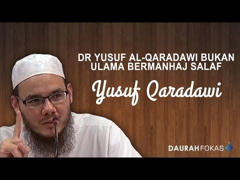 UIS - Dr Yusuf al Qaradawi Bukan Ulama Bermanhaj Salaf