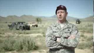 1st Lt Ted Rajala, Combat Rescue Officer (CRO)