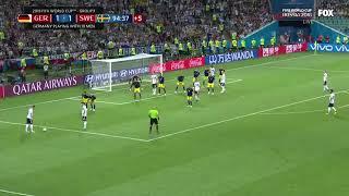 Germany vs sweden last minute goal