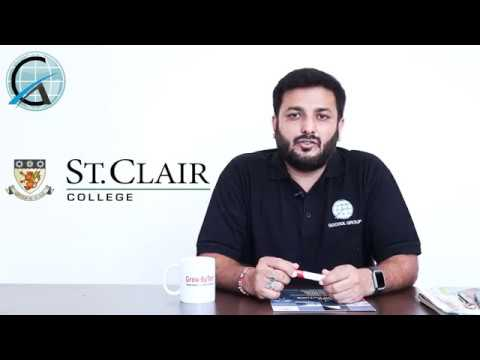 Study In Canada St Clair College Spp Colleges Indian Students Youtube