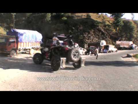 Himalayan Driving from Theog near Shimla to Narkanda in Himachal  Part 3