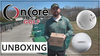 OnCore Golf ELIXR and AVANT | Golf Balls Unboxing