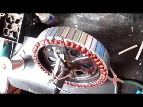 QS Motor Electric In-Wheel Hub Motor Repairment-Change Hall Sensor