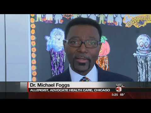 Students learn from top allergist