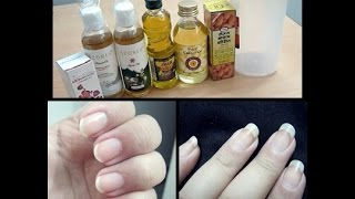 Nail Growth Journey: 1 Month (DIY cuticle oil)