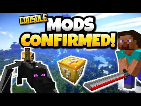 Minecraft Console Mods Confirmed Add