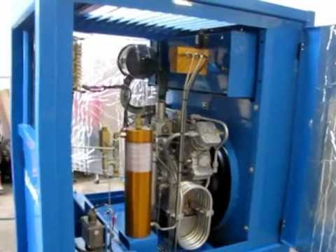 Sold Mako Compair Breathing Air Compressor Youtube