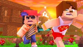 DÜŞMANLARIMIZDAN MESAJ VAR - AĞAÇ EV #2 CONCONCRAFT Minecraft Evi Serverında