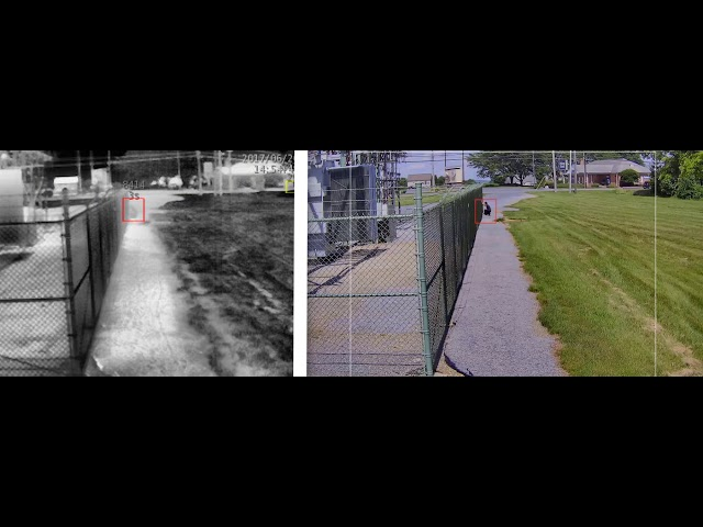 SightSensor HD - Thermal Detection (left), HD Assessment (right)