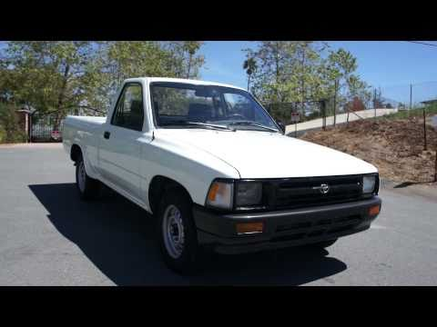 1993 Toyota Pickup 4 Cyl 22 R-E 1 Owner CLEAN