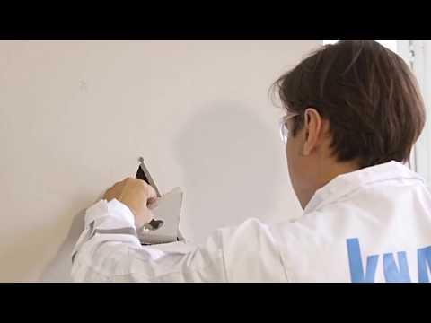 Как заделать дыру в гипсокартоной  стене