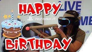 PLAYSTATION VR hat GEBURTSTAG !! Happy Birthday SPECIAL im PS VR Best of