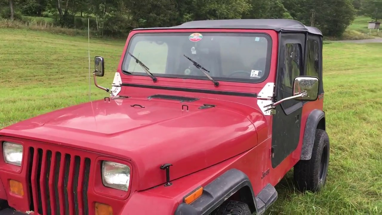 kentrol jeep yj hinges and mirror kit overview plus curt class 3 trailer hitch youtube kentrol jeep yj hinges and mirror kit overview plus curt class 3 trailer hitch