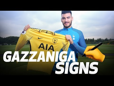 PAULO GAZZANIGA'S FIRST SPURS INTERVIEW