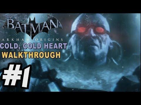 Batman: Arkham Origins - Cold Cold Heart DLC Walkthrough Part 1 Freeze Crashes
