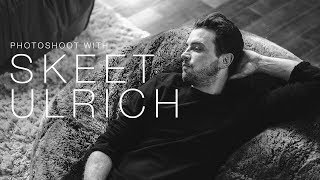 Photoshoot with Skeet Ulrich