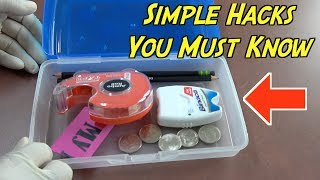 Everyday Life Hacks That Will Make Life Easier For You-  Best Life Hacks