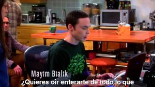 "TBBT - The Big Bang Theory. 7x11 - ""Uncle Dr. Cooper"". Amy and Penny playing wii. Sub. Esp."