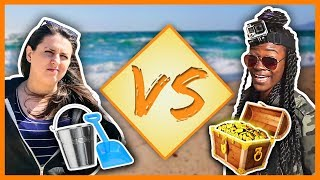 VERSUS - EPISODE 1 | BURIED PIRATE TREASURE CHALLENGE!