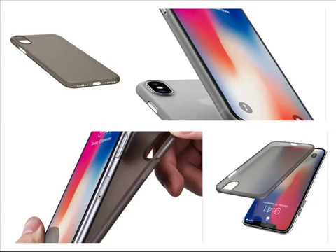 detailed look 7e79a fad3f New TOZO for iPhone X Case, PP Ultra Thin [0.35mm] World's Thinest Protect  Hard Case