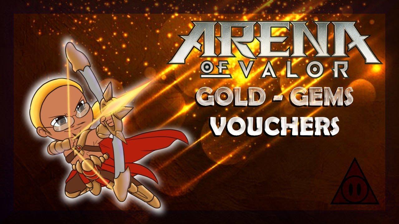 Arena of Valor : Guides ~ Gold - Gems - Vouchers