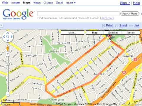 Calculate Route Distances For Run Chart Using Google Maps YouTube - Calculate route distance google maps