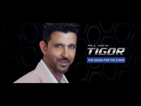 Actor Hrithik Roshan is the face of the all new 2018 Tata Tigor
