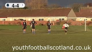 Highlights: Unbelievable Scotland Cup tie between Prestwick & St Andrews U16s
