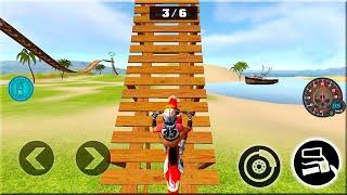 Motocross Beach Bike Stunt Racing - Motor Racer Games Android Gameplay