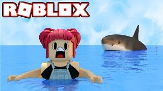 ROBLOX! EXTREME SHARK ATTACK! | Amy Lee33
