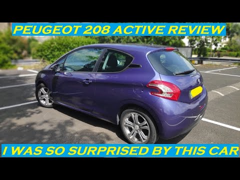 2012 PEUGEOT 208 ACTIVE 1.2 PETROL REVIEW AND THOUGHTS