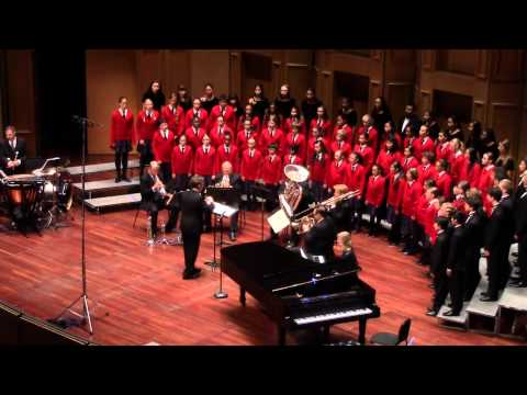 Hymns of the U.S. Armed Forces. Children's Choir, Dr. Aaron Mitchell, cond.