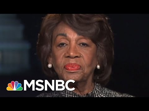 Maxine Waters Reacts To President Donald Trump Calling Her