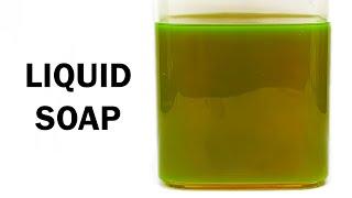 Making Liquid Soap