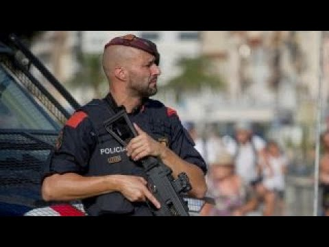 Download Youtube: Five terrorists with fake suicide belts killed in Spain